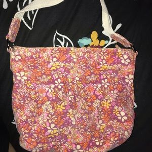 levi's flowered purse